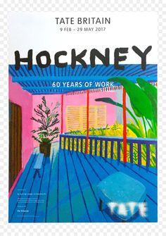David Hockney - Tate Britain Poster