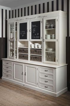 riviera-maison-2.jpg (436×655)  This is what I want for the laundry room cabinet but in natural wood