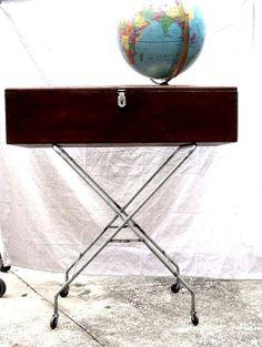 Vintage Modern Sofa or Console Table by vagabondsandcaravans, $295.00