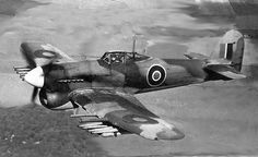 """You thought you were safe in your little tank? We'll let the AP rockets and cannons """"reassure"""" you. Ww2 Aircraft, Military Aircraft, Hawker Tempest, Hawker Typhoon, Hawker Hurricane, Military Photos, Military History, Ww2 Planes, Royal Air Force"""