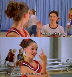 Bring it on quotes, funny movies, all movies, great movies, tv show quotes Tv Show Quotes, Film Quotes, Funny Movies, Great Movies, Love Movie, Movie Tv, Teen Movies, Iconic Movies, Classic Movies