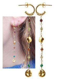 Cute Jewelry, Diy Jewelry, Jewellery, Bead Earrings, Pocket Watch, Diy And Crafts, Studs, Perler, Krystal
