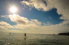 Stand up paddling in the morning pan dulce beach Stand Up Paddling, Osa Peninsula Costa Rica #tour #vacation