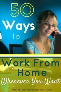 Want to work from home but not ready to quit your day job? Here's 50 ways you can earn money online whenever you want!