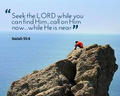 seek him while he may be found