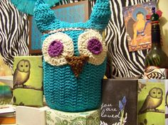 Stuffed Owl by peacelovecreations on Etsy, $20.00