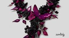 Midnight Purple Butterfly