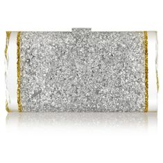 Lara Backlit glittered acrylic box clutch ($1,075) ❤ liked on Polyvore featuring bags, handbags, clutches, clutches / wallets / purses, edie parker, box clutch, acrylic box clutch, hard clutch, acrylic clutches and hand bags
