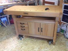 Woodworking Work Bench – How To build DIY Woodworking Blueprints PDF Download.