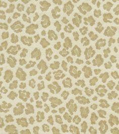 Home Decor Fabric-Waverly Paradise Found Serengeti Snow Leopard & home decor fabric at Joann.com