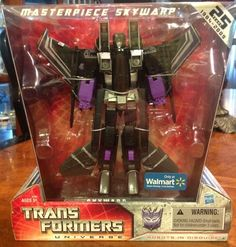 Transformers Universe Wal-Mart Exclusive Masterpiece Skywarp - New!!