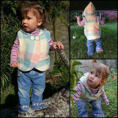 My 3 LittleKiwis: {Kids Clothes Week} ~ Day 2 ~ Woolen vest for Portia Modern Sewing Patterns, Vest, Knitting, Day, Fabric, Kids, Crafts, Craft Ideas, Clothes