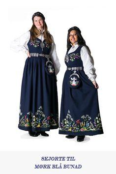 Bunadsskjorte til dame | Oslobunaden