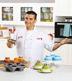 #SpringBadaBing Sweepstakes Featured Prize — Cake Boss® 4-Cup Round Cakelette Pan, now available at @michaelsstores.