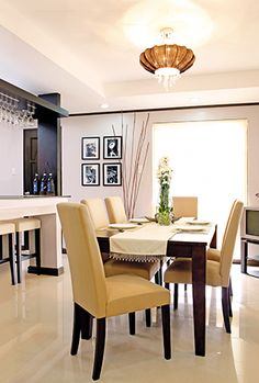 6e61ded0c0a A Play of Patterns and Light Colors in a Cavite Home