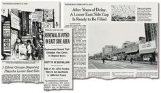 They Kept a Lower East Side Lot Vacant for 47 Years - NYTimes.com | Articles about plans for developing the Seward Park Urban Renewal Area, or Spura, in The New York Times.