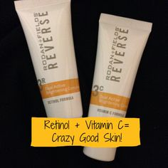 What does Dr. Oz have to say about Retinol + Vitamin C? Powerful anti-aging treatment and dark spot reduction at the same time!