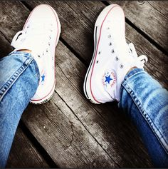 Converse Chuck Taylor High, Converse High, High Top Sneakers, Lazy Days, Chuck Taylors High Top, High Tops, Shoes, Fashion, Jewels