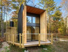 Nestled on the banks of Lake Superior sits a small off-the-grid shelter thought up by a father-son duo hell-bent on building a cabin to not only hold their stuff, but their dreams as well. While the exterior aesthetic would suggest exotic materials, radical construction techniques and extravagant detailing, the opposite holds true. Revelation Architects made …