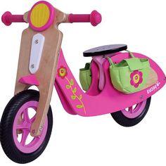 Scooter 2 ruedas Flor
