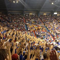 Allen Fieldhouse, University of Kansas