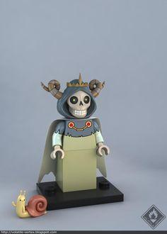 Lego Lich Minifig