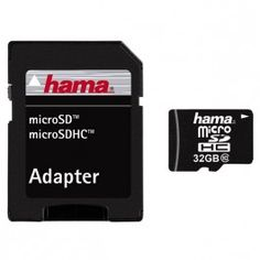 Card de memorie adaptor HAMA microSD HC 32GB clasa 10 Camere foto-video carduri memorie Hama Altex