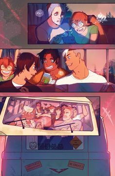 The Voltron team having a good time Voltron Klance, Shiro Voltron, Voltron Comics, Voltron Fanart, Form Voltron, Voltron Ships, Dreamworks, Klance Comics, Allura