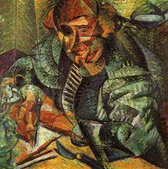 """""""L'antigrazioso - Umberto Boccioni 1912 """""""