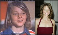 #Jodie Foster with #braces