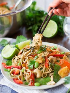 Cashew Soba Noodle Salad - See 26 other asian noodle bowl recipes are both comforting and flavorful. | Savorystyle.com