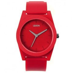 Lexon Spring Rubber Watch – Small