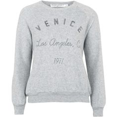 TALL Venice Sweatshirt by Project Social T ($58) ❤ liked on Polyvore featuring tops, hoodies, sweatshirts, grey, patterned sweatshirts, grey sweatshirt, tall tops, grey sweat shirt and pattern tops