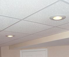 Finished Basement Ceiling in Ohio | Basement Drop Ceiling Installation In Akron, Cleveland, Youngstown