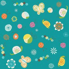 Riley Blake Designs Happier by Denna by CuddlyQuiltsByDesign, $8.50