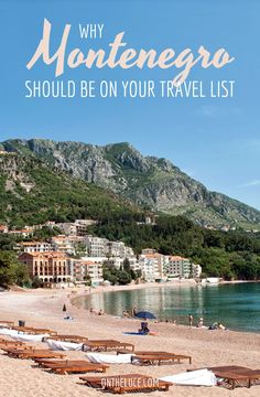 Beaches, historic towns, mountains, lakes and canyons – why the Balkan country of Montenegro deserves a spot on your travel wishlist. Europe Travel Tips, Travel List, European Travel, Places To Travel, Travel Destinations, Places To Go, Funny Travel, European Destination, Montenegro Travel