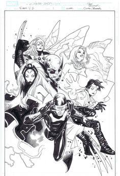 Olivier Coipel X-Men Cover issue 1 Comic Art
