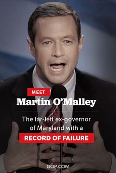 Martin O'Malley has entered the 2016 presidential race. Maryland voters liked his policies so much they elected a Republican to succeed him.