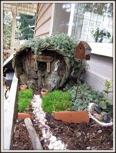 fairy house by geraldine