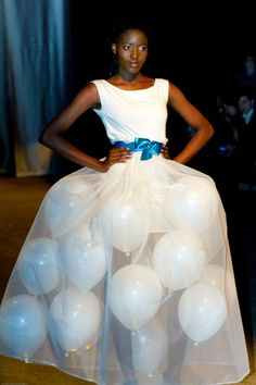 """The """"Up, Up, and Away"""" Gown 