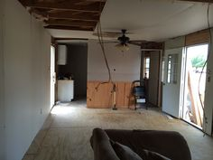 Horrible walls and awful kitchen/bath layout