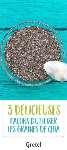 Chia seeds: the small seed rich in benefits - Chia seeds are the seeds to adopt quickly! It is full of health benefits and will boost your energy - Detox Recipes, Raw Food Recipes, Healthy Recipes, Healthy Drinks, Detox Salad, Detox Soup, Detox To Lose Weight, Yoga Benefits, Health Benefits