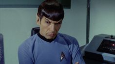 Leonard Nimoy as Mr. Spock......yes.