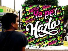 ELLIOT TUPAC, Mural Tipográfico. by Elliot Tupac, via Flickr