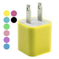 US Plug 110-240V USB AC Charger for Apple iPad, iPhone, iPod
