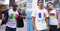 World Cup Teeshirts from Senegal, France and Germany    #lionsdeteranga #lesbleus #diemannschaft #fifaworldcup