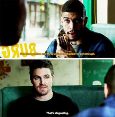 """#Arrow 5x11 """"Second Chances"""" - Rene and Oliver"""