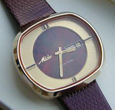 Darlor vintage watches -mido ''ocean star''