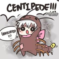 Lol such a cute centipede!! Never thought I'd say that... lol