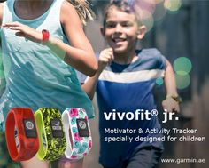 Track your child's activity with new @Garmin vivofit jr. –the activity tracker specifically for children that motivates good behavior and physical activity! Parent tested, kid approved!
